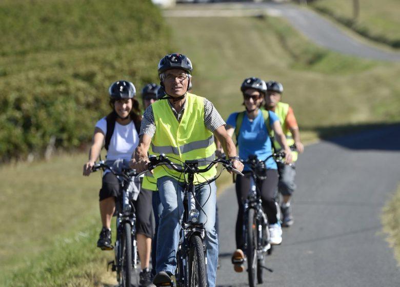 Circuits libres en vélo à assistance électrique – Office de Tourisme du Pays Foyen