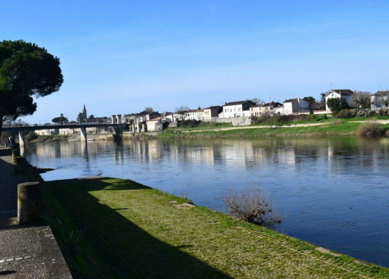 «Sur les pistes de Robin » la Dordogne à Sainte-Foy-La-Grande