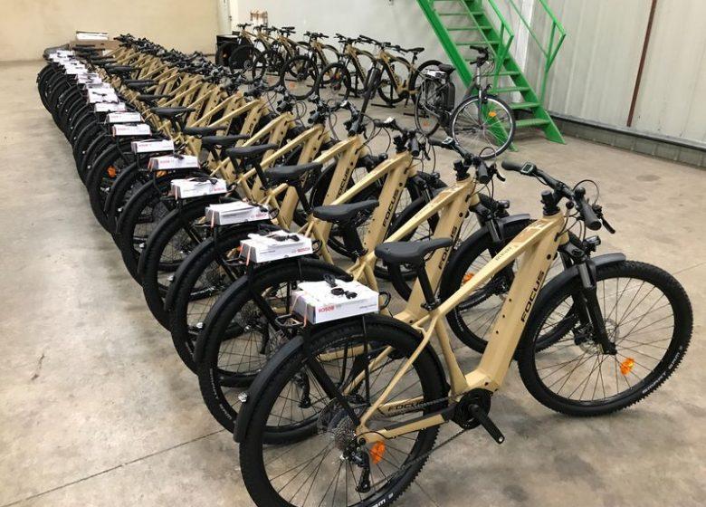 Location de vélos électriques – VZIIIT